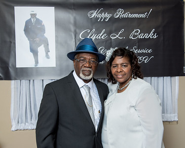 Clyde Banks Retirement Party
