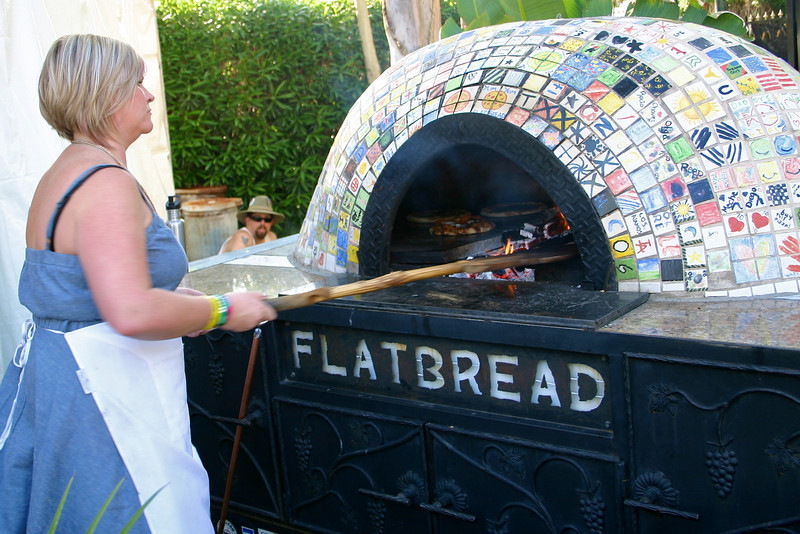Woodfired flatbreads/pizzas!
