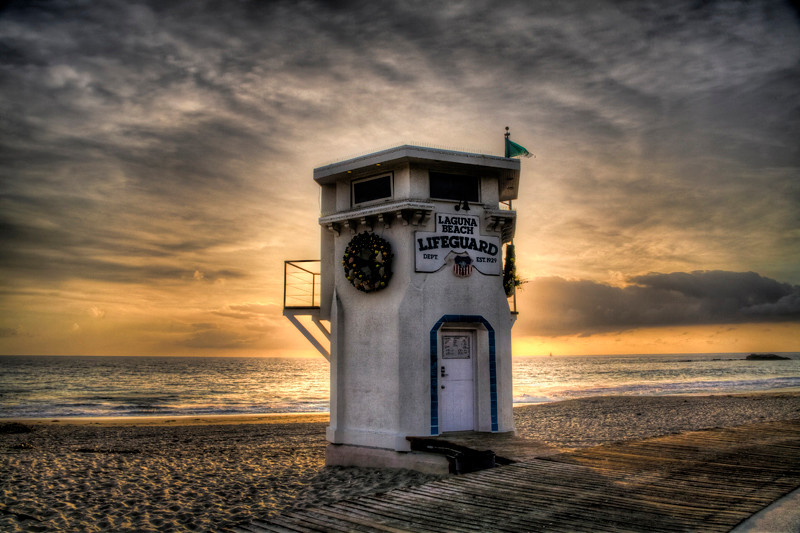 Main Beach Lifeguard Tower - Laguna Beach, CA