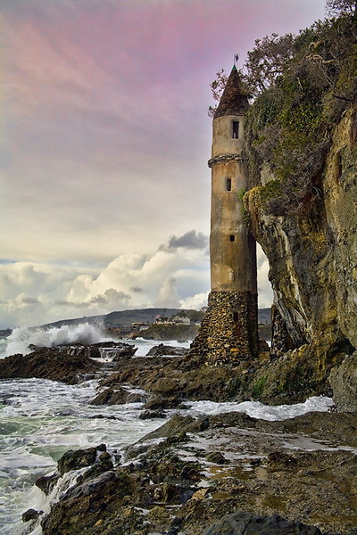 Victoria Tower, Jan '10 v3  - Laguna Beach, California