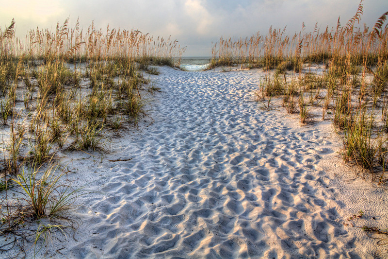 Path to Beach - Pensacola, Florida