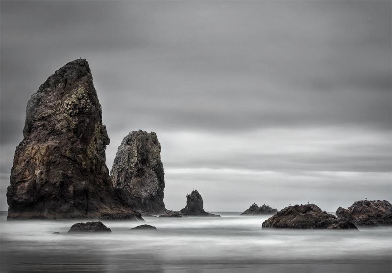 Sea Stacks - Cannon Beach