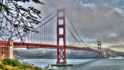 Golden Gate Bridge - HDR San Francisco, California