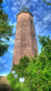 Cape Henry Lighthouse - HDR Fort Story, Virginia