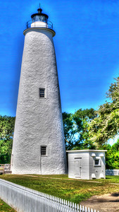 Ocracoke Light - HDR Ocracoke Island, North Carolina