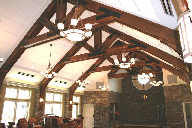 Oak Veener over LVL,s Espicopal Church, Ashville, NC