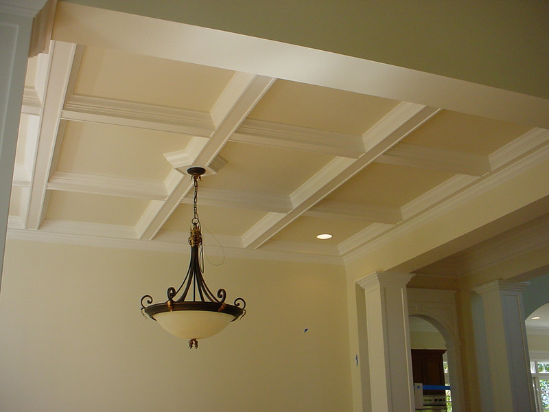 MDF Coffered Ceiling