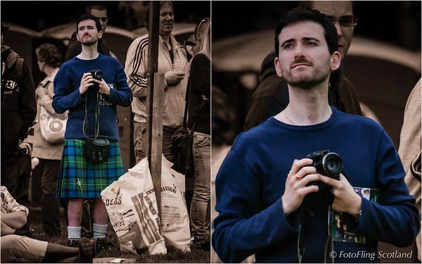 Kilted Photographer