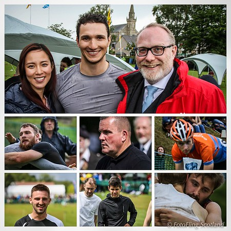 Photo Collage - Ceres Highland Games
