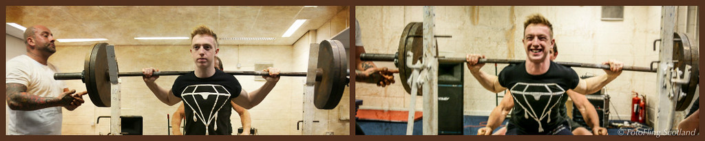 Powerlifting Collage