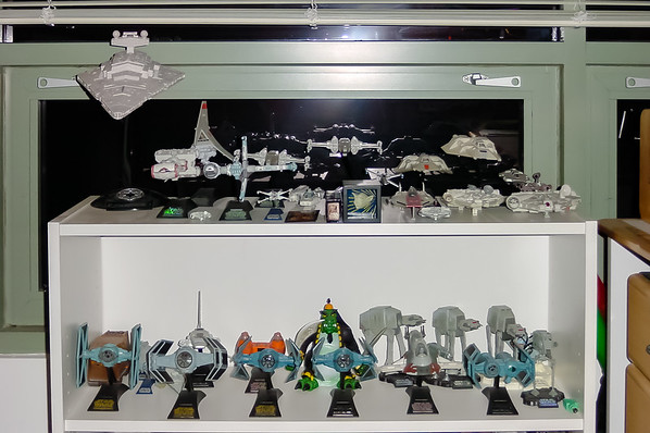 My Star Wars Action Fleet...compensating for the Star Wars toys I never had as a kid (and those my mom sold in a garage sale without even telling me)