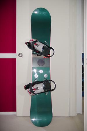 My new Burton Custom snowboard!