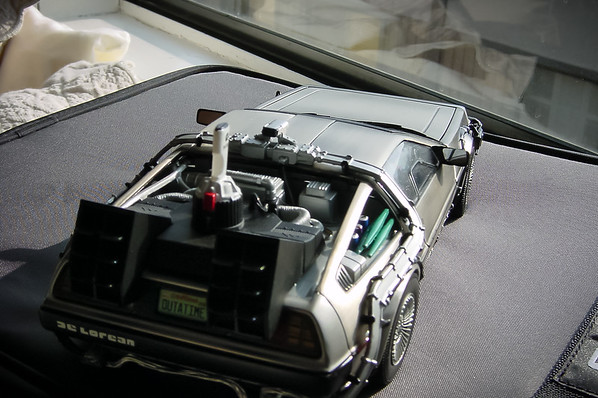 I decide I really should capture a shot or two of my Back to the Future Delorean in natural light