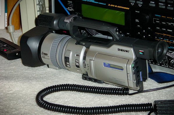 I finally own a great camcorder, but have no time to shoot with or edit what I take with it.  That all said, I am a little disappointed that the 3CCD Sony VX2000 cannot shoot 480p.
