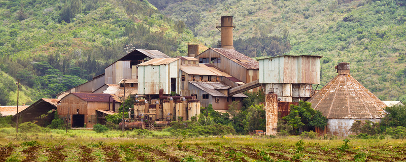 Abandoned Sugar Plantation, Kauai Hawaii