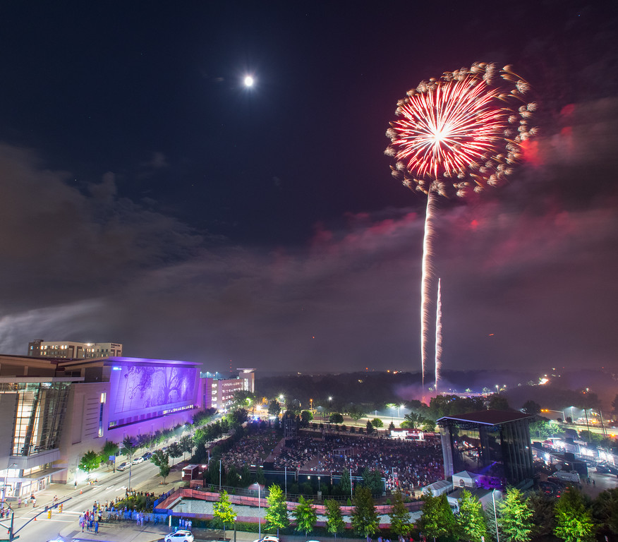 Raleigh Fireworks 2017