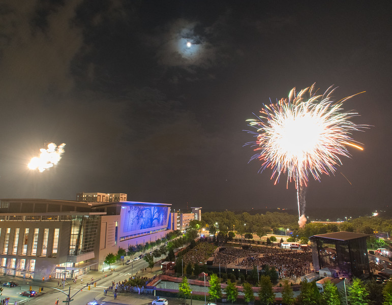 Raleigh Fireworks 2017