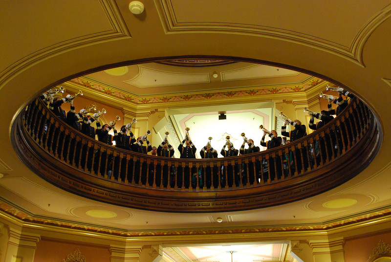 Trumpets Under the Dome