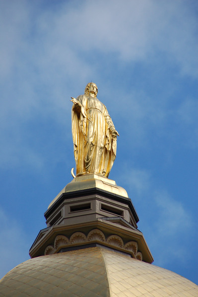 Virgin Mary  - Golden Dome