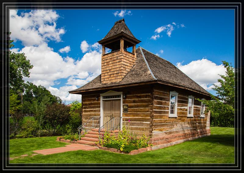 Torrey Log Church-Schoolhouse