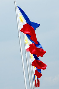 Flag of the Republic of the Phillippines.