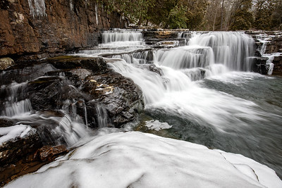 Dismal Falls in Winter