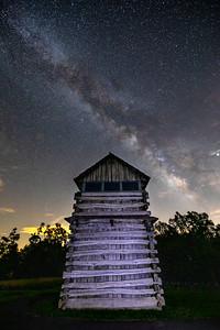 GroundHog Mountain Milky Way
