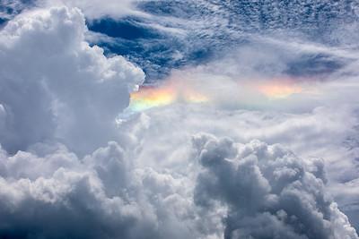 Cloud irridescence