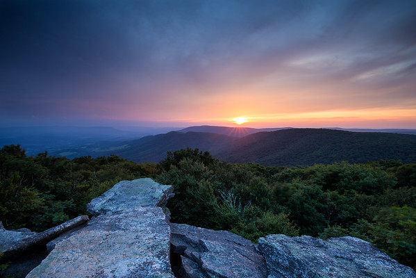 Bald Knob Sunset