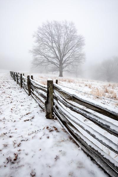 Blue Ridge Parkway Snow Storm 2