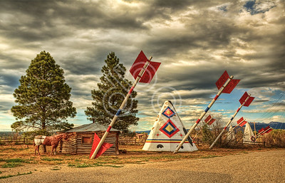 Giant Arrows at a trading post in Mancos, CO