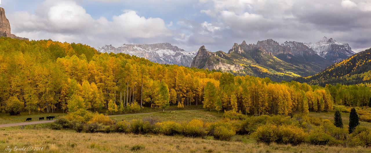 Turret Ridge and Sheep Mountain