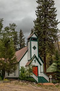 Marble Co, church