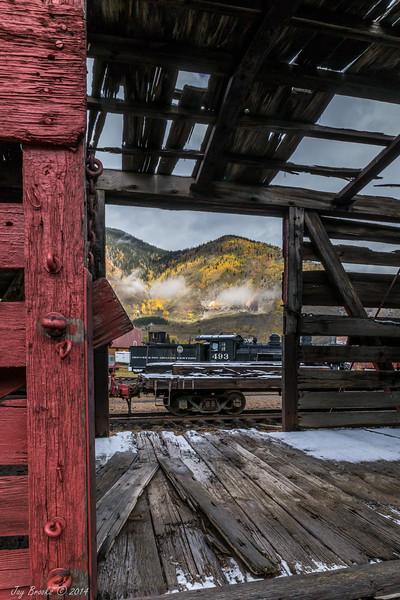 Durango & Silverton Railroad, Silverton, Colorado
