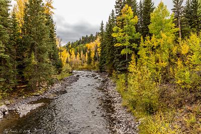 East Cimarron Creek