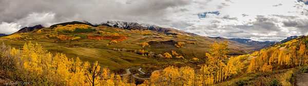 Pano: East River Valley North of  Crested Butte