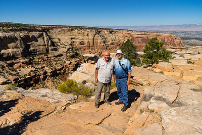 Jay and Larry at Colorado National Monument