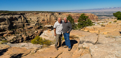 Jay and Doug at Colorado National Monument