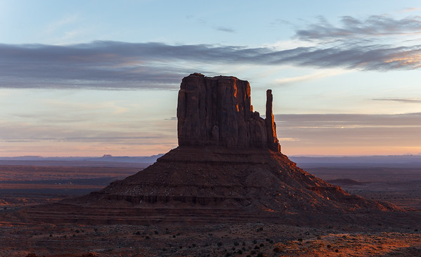Monument Valley sunrise, Utah