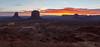 Monument Valley sunrise, Utah