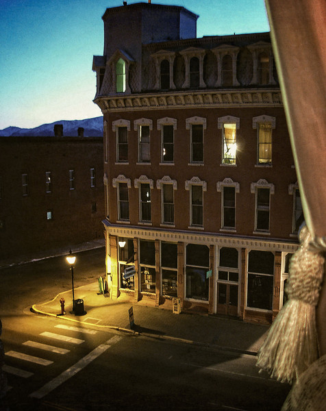 What Doc Holliday saw from his room at the Delaware Hotel in Leadville.<br /> Photo © Cindy Clark