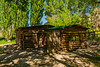 Josie Morris Cabin, exterior, Dinosaur National Monument