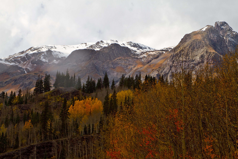 Weather coming in at Red Pass.<br /> Photo © Carl Clark