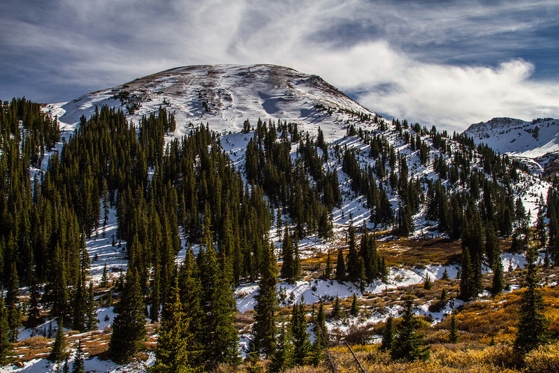 Early signs of winter near Independence Pass.<br /> Photo © Carl Clark