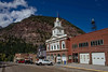 Fire station in downtown Ouray.<br /> Photo © Carl Clark