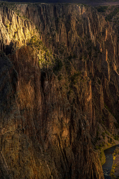 This canyon completely captivated me - the Black Canyon of the Gunnison<br /> Photo © Cindy Clark