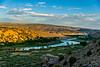 Sunset, Green River near Split Mountain, Dinosaur National Monument