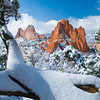Garden of the Gods after a fresh snowfall