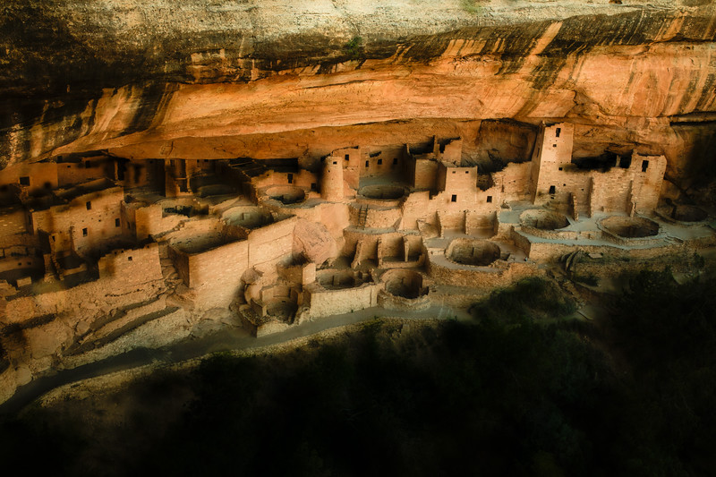 Cliff Palace, Mesa Verde.<br /> Photo © Cindy Clark