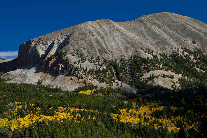Jumbo rock formation near Wolf Creek Pass.<br /> Photo © Carl Clark